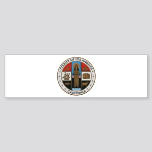 LA County Seal New Style Bumper Sticker