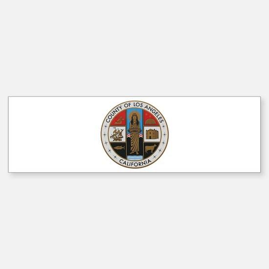 LA County Seal New Style Bumper Bumper Bumper Sticker