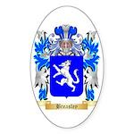 Breasley Sticker (Oval 50 pk)
