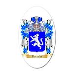 Breasley 20x12 Oval Wall Decal