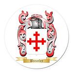 Brearley Round Car Magnet