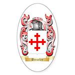Brearley Sticker (Oval 50 pk)