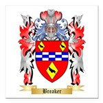 Breaker Square Car Magnet 3