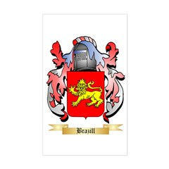 Brazill Sticker (Rectangle)