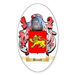 Brazill Sticker (Oval 50 pk)