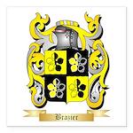 Brazier Square Car Magnet 3