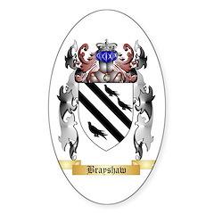Brayshaw Sticker (Oval 50 pk)