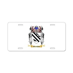 Brayshaw Aluminum License Plate