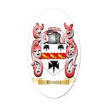 Brawley Oval Car Magnet