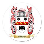 Brawley Round Car Magnet
