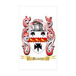 Brawley Sticker (Rectangle 50 pk)