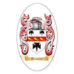 Brawley Sticker (Oval 10 pk)
