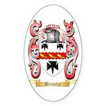 Brawley Sticker (Oval 50 pk)