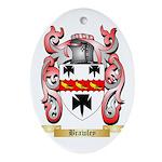 Brawley Ornament (Oval)