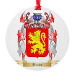 Bravo Round Ornament