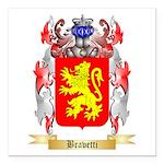 Bravetti Square Car Magnet 3