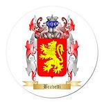 Bravetti Round Car Magnet