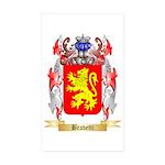 Bravetti Sticker (Rectangle 50 pk)
