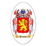 Bravetti Sticker (Oval)