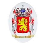 Bravetti Ornament (Oval)