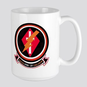 VMFA 251 Thunderbolts Large Mug