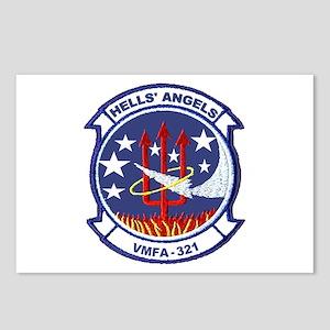 VMFA 321 Hells Angels Postcards (Package of 8)