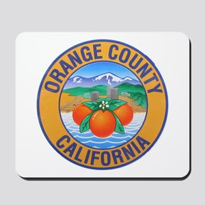 Orange County California Mousepad