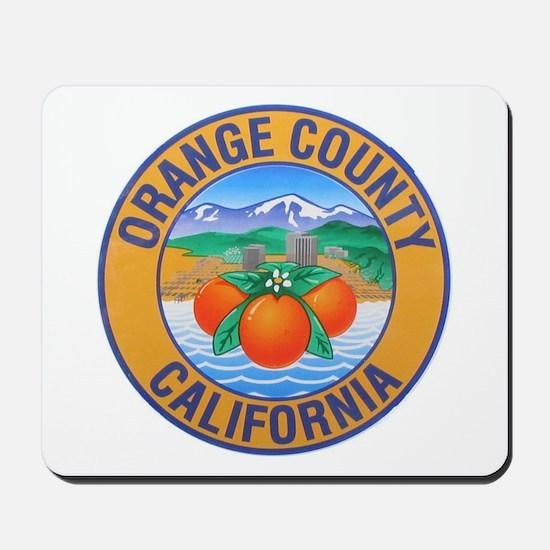 Orange County California Mousepad