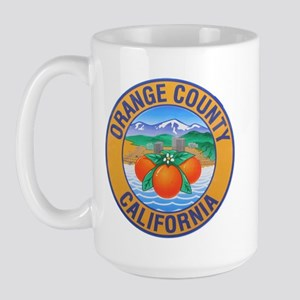 Orange County California Large Mug