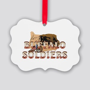 ABH Buffalo Soldiers Picture Ornament