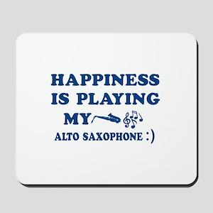 Alto Saxophone Vector Designs Mousepad