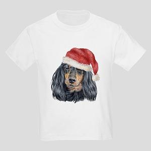 Christmas Dachshund Kids T-Shirt