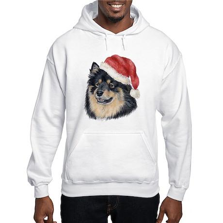 Christmas Finnish Lapphund Hooded Sweatshirt
