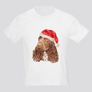 Christmas Field Spaniel Kids T-Shirt