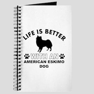 American Eskimo vector designs Journal