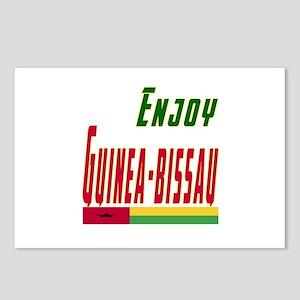 Guinea-Bissau Designs Postcards (Package of 8)