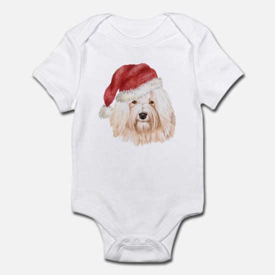 Christmas Havanese Infant Bodysuit