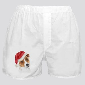 Christmas Jack Russell Terrie Boxer Shorts