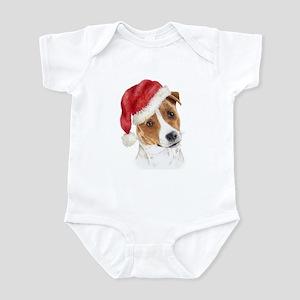 Christmas Jack Russell Terrie Infant Bodysuit