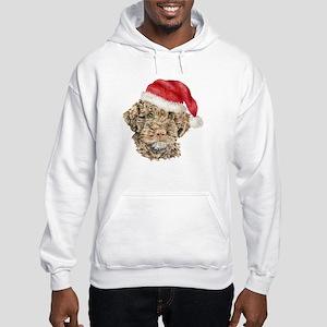 Christmas Lagotto Romagnolo Hooded Sweatshirt