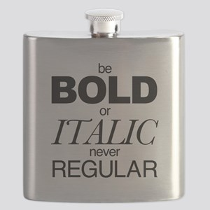 Be Bold or Italic never Regular Flask