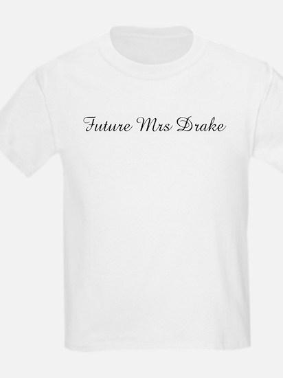 Future Mrs Drake Kids T-Shirt