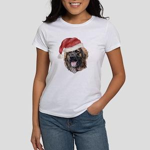 Christmas Leonberger Women's T-Shirt