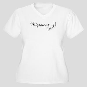 10migraines_suck Plus Size T-Shirt