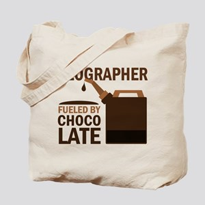 Geographer Fueled By Chocolate Tote Bag