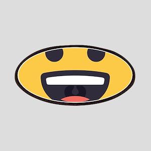 Happy Emoji Face Patch