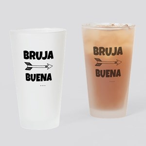 Bruja Buena (good Witch) Drinking Glass