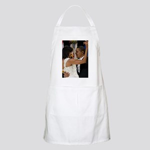 Barack and Michele Obama Apron