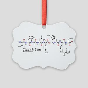 Thank You molecularshirts.com molecules Ornament