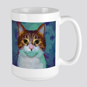 Classical Cat Large Mug
